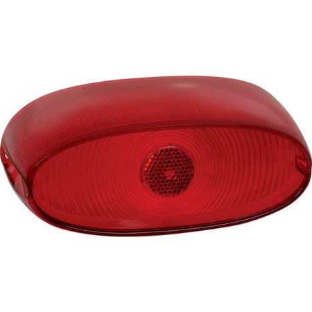 MACs Auto Parts  60-30581 Tail Light Lens - Ford Except Ranchero & Sedan Delivery & Station (Sedan Delivery Wagon)
