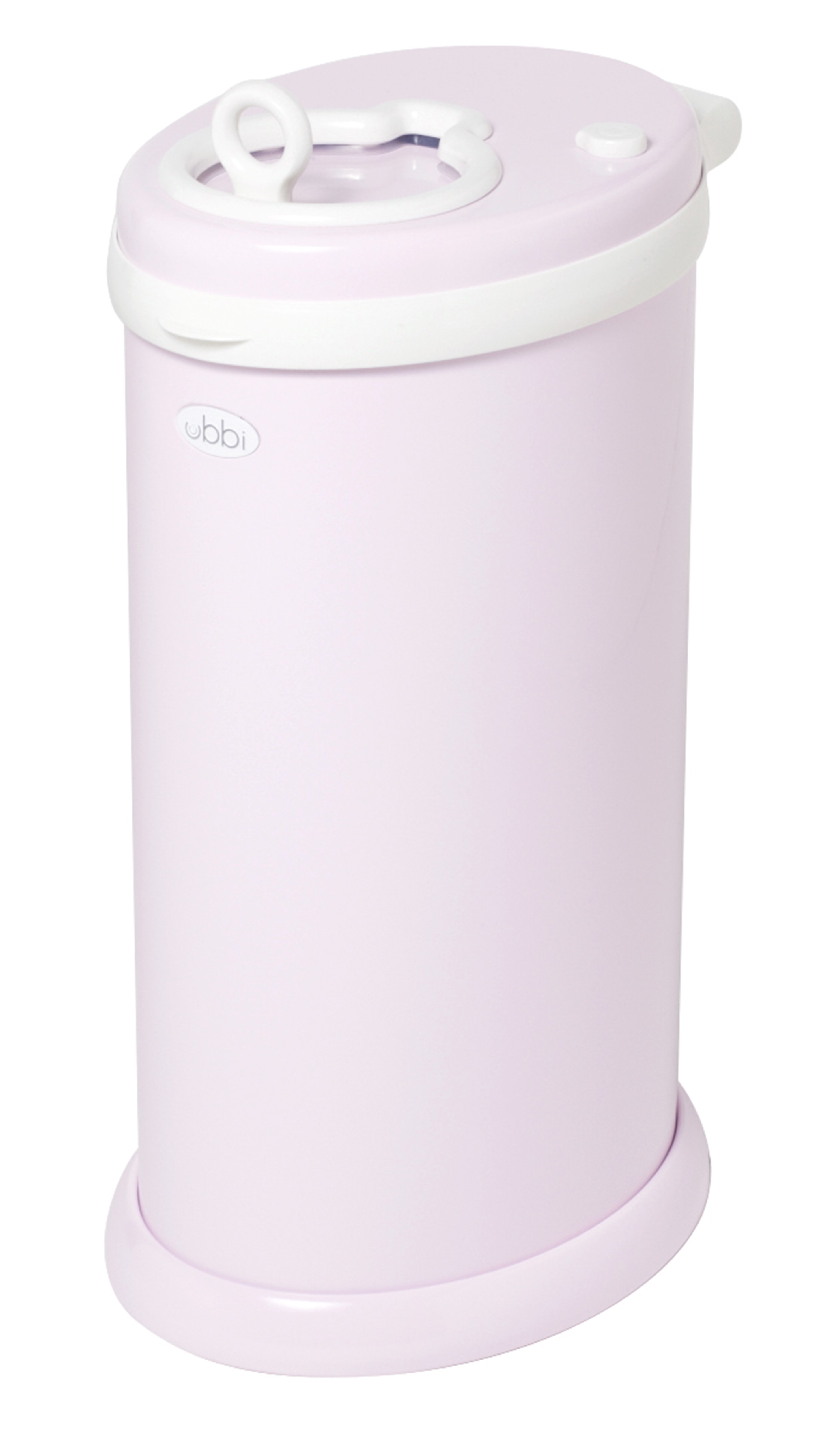 Ubbi Steel Diaper Pail, Light Pink by Ubbi