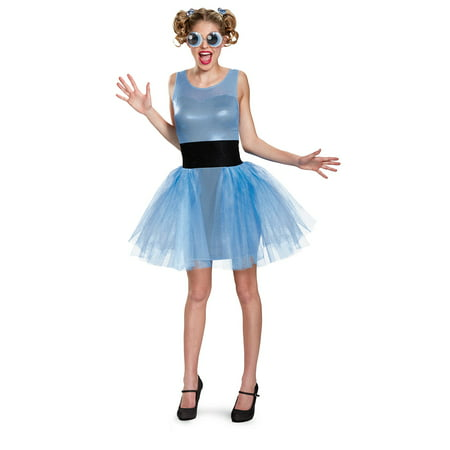 Powerpuff Girls Bubbles Deluxe Adult Costume (Powerpuff Girl Costumes Diy)