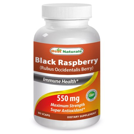 Best Naturals Black Raspberry 550 mg 90 Veggie