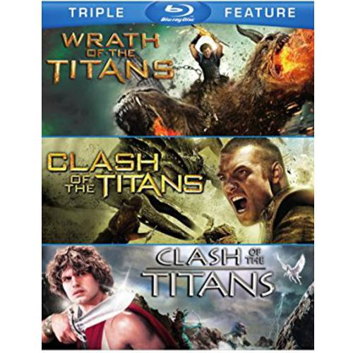 Triple Feature: Wrath Of Titans / Clash Of The Titans (2010) / Clash Of The Titans (1981) (Blu-ray) WARBR479691