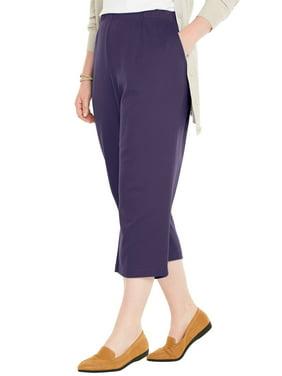792d313f11c Product Image Woman Within Plus Size Petite 7-day Knit Capri