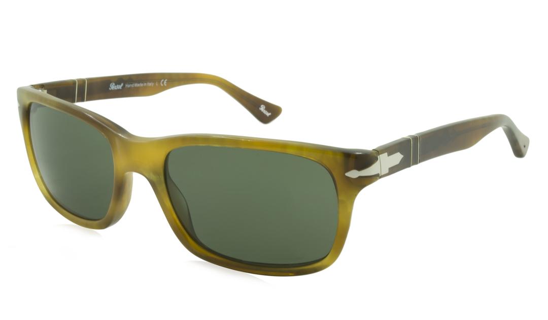 3edead5c4089d Persol - Persol Sunglasses PO3048   Frame  Striped Light Havana Lens ...