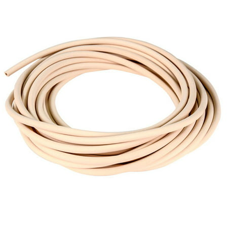 Firm Continuous Flex Rubber Opaque Beige Tubing for Food and Beverage