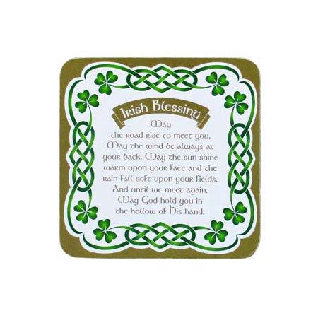 Irish Celtic Blessings (Clara Celtic Coasters Irish Blessing)