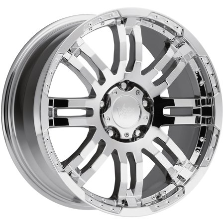 Cobra Chrome Wheel (Vision 375 Warrior 18x8.5 5x4.5