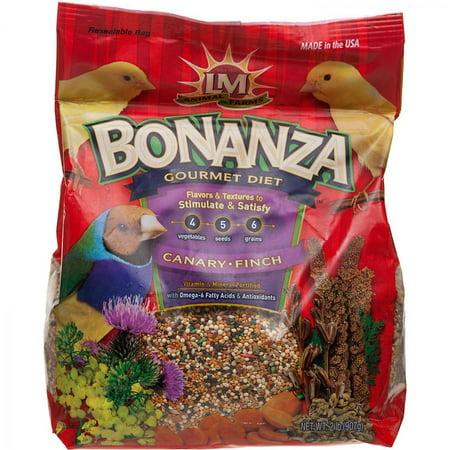 LM Animal Farms Bonanza Canary & Finch Gourmet Diet 2 lbs Bonanza Cockatiel Gourmet Diet