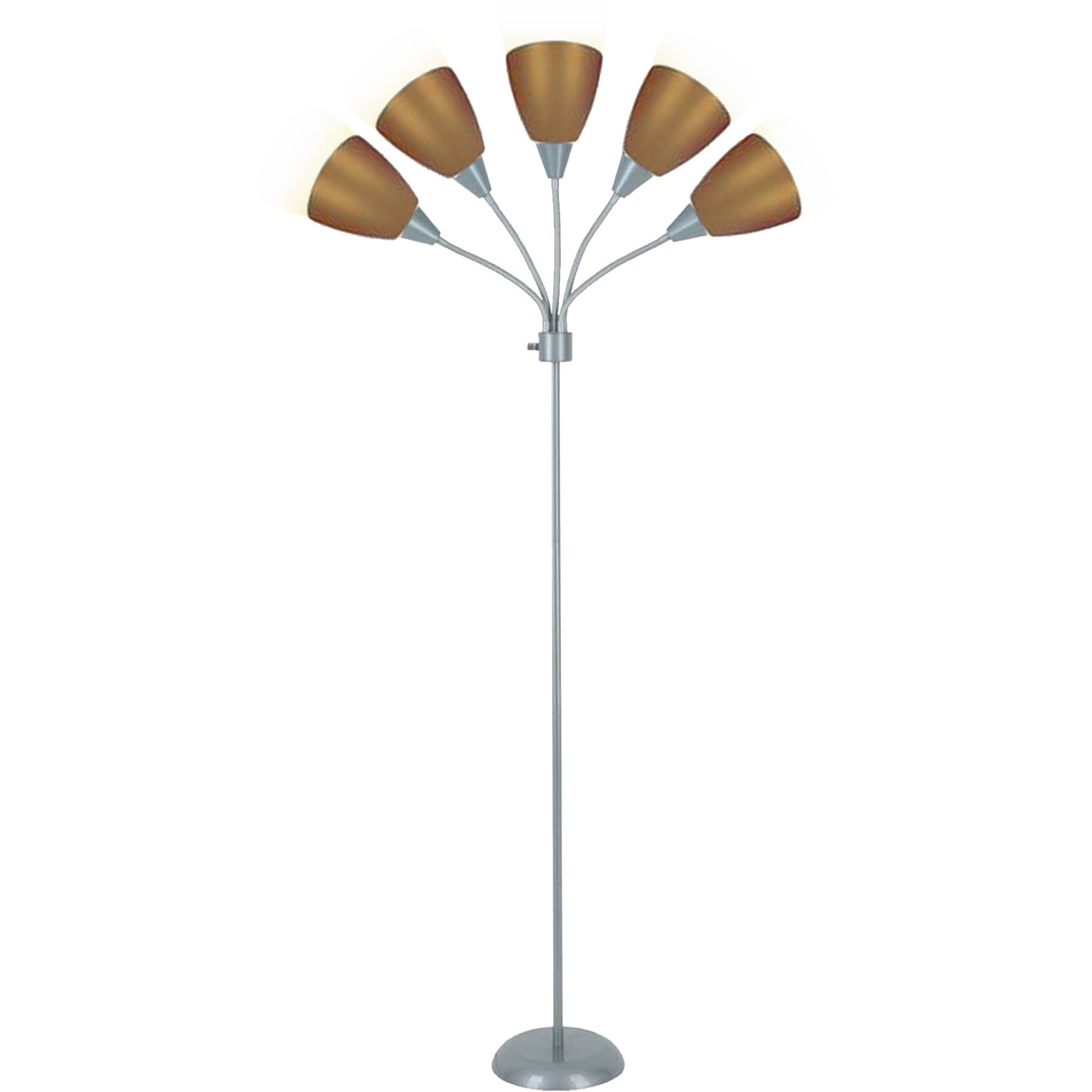 Mainstays 5-Light Floor Lamp, Multiple Colors by JIMCO LAMP CO.