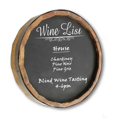 Winston Porter Wine List Quarter Wall Mounted Chalkboard