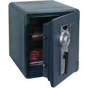 0.94 Cubic-ft. Waterproof 1-Hour Fire Safe with Combination Lock