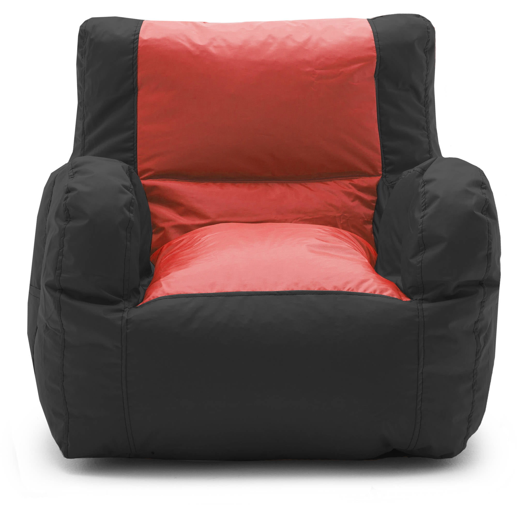 Big Joe Duo Chair Black Red Engine Walmart Com
