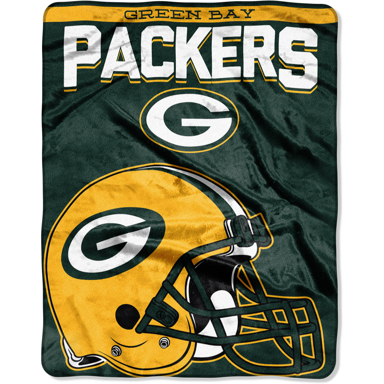 "NFL Green Bay Packers ""Drawback"" 55"" x 70"" Silk Touch Throw"