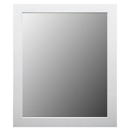 Framecrafters, Inc. White Framed Bathroom / Full Length Mirror ()