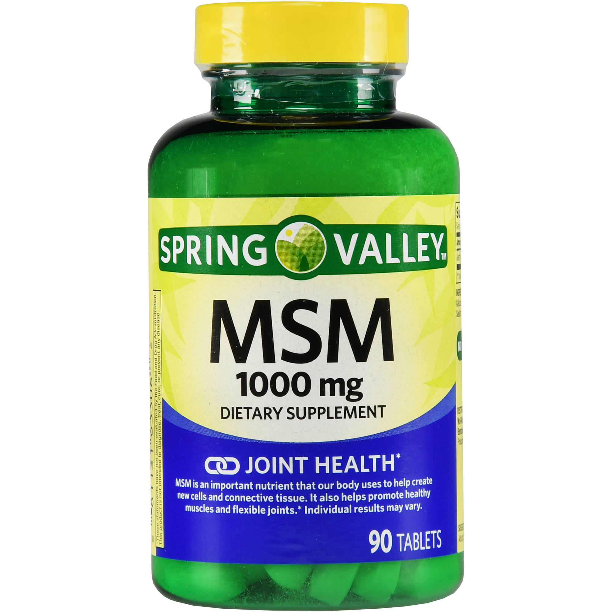 Spring Valley MSM Supplement 1000mg, 90ct