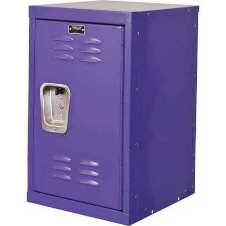 HALLOWELL HKL1515(24)-1PR Kid Locker, Purple, 15inW x 15inD x 24inH