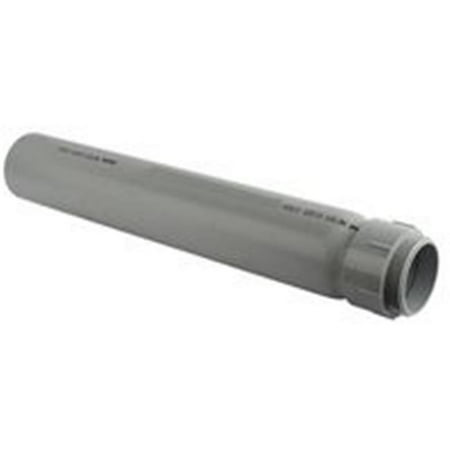 Thomas & Betts E954JXX Gray PVC Slip Meter Riser 2 Inch (4 Inch To 2 Inch Reducer Pvc)