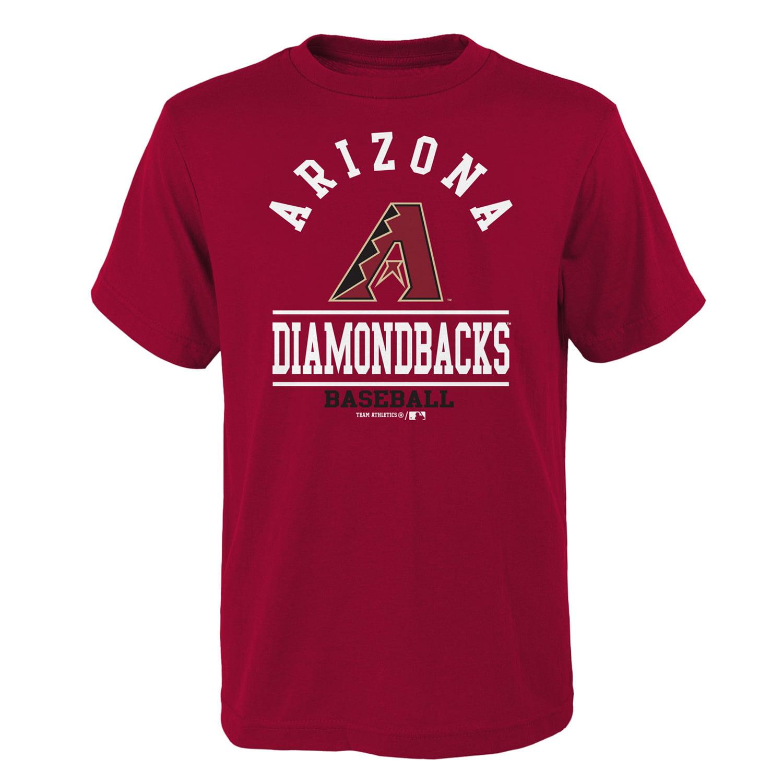 Youth Red Arizona Diamondbacks Arch T-Shirt