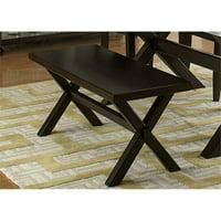 Liberty Furniture Keaton II Dining Bench in Charcoal