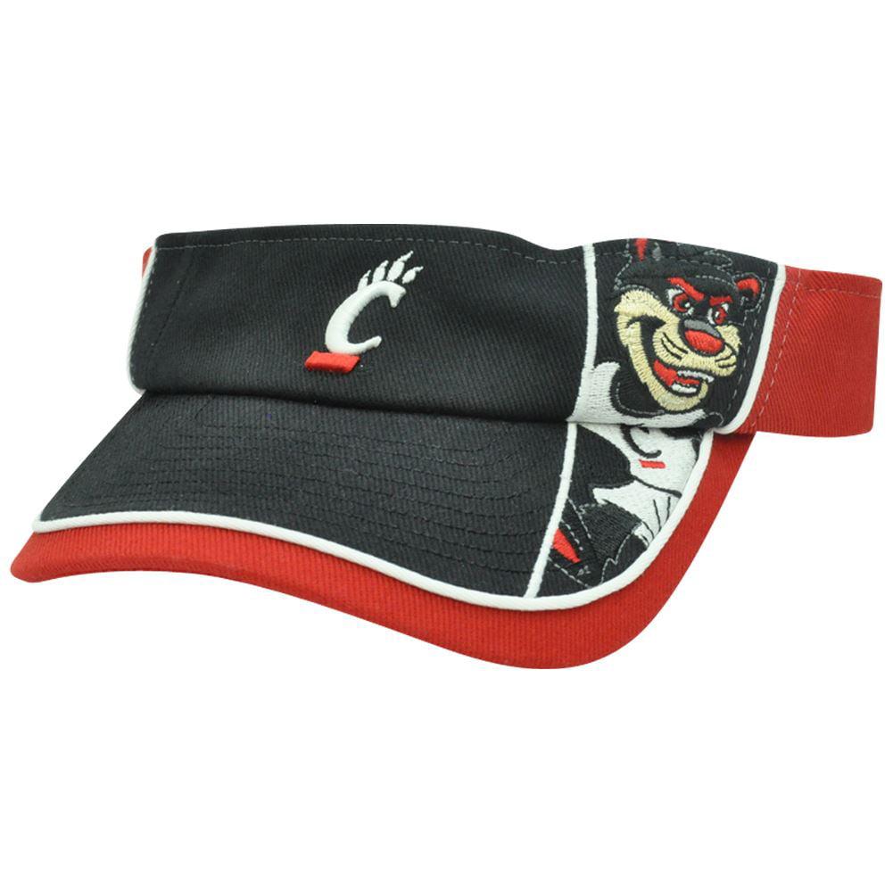 NCAA Cincinnati Bearcats Mascot  College Sports Adjustable Hat Visor