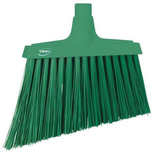 "VIKAN VIKAN Green 11-3/8"" PET Angle Broom, 29142"