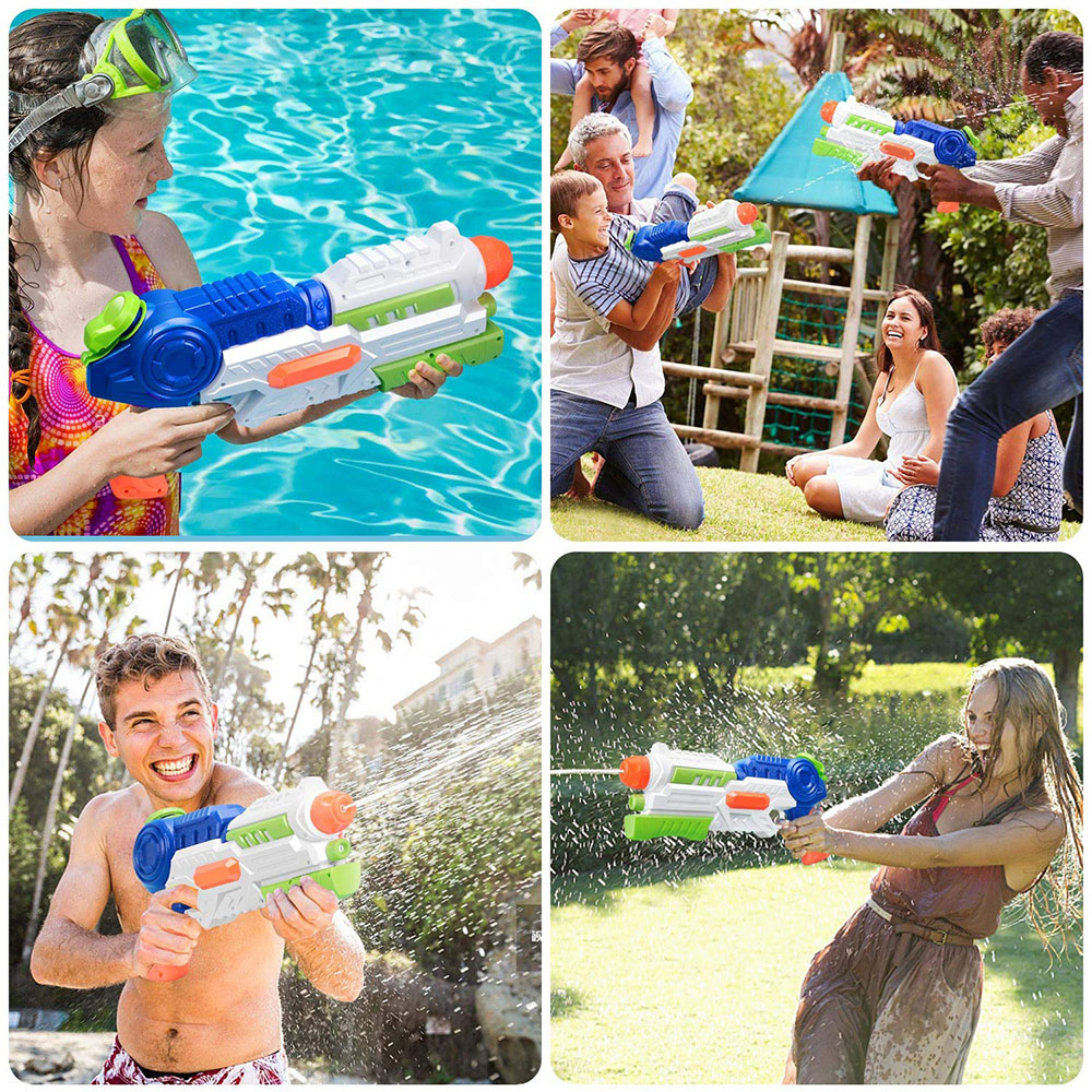 GLiving 2 Pack Super Water Gun for Kids Adults,35ft Long Range Water Pistol Toy for Summer Party 36oz High... by