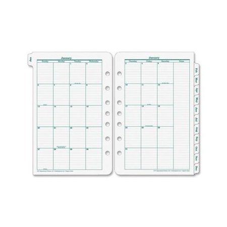 Franklin Covey Original Classic Monthly Tab (Franklin Covey Leather)