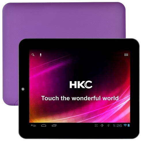 """HKC Dual-Core 1.5GHz 8GB 8"""" Touchscreen Google Android 4...."""