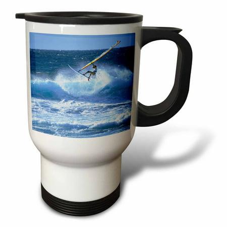 3dRose Windsurfing Hookipa Maui Hawaii - US12 DPB0012 - Douglas Peebles, Travel Mug, 14oz, Stainless Steel