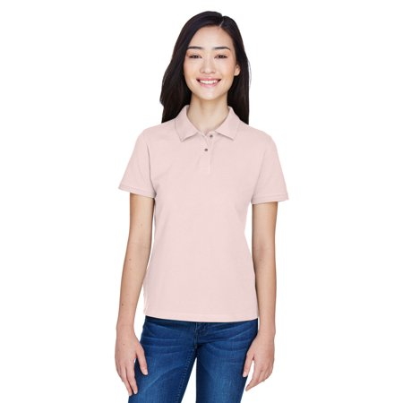 Harriton Ladies' 6 oz. Ringspun Cotton Piqué Short-Sleeve Polo - M200W