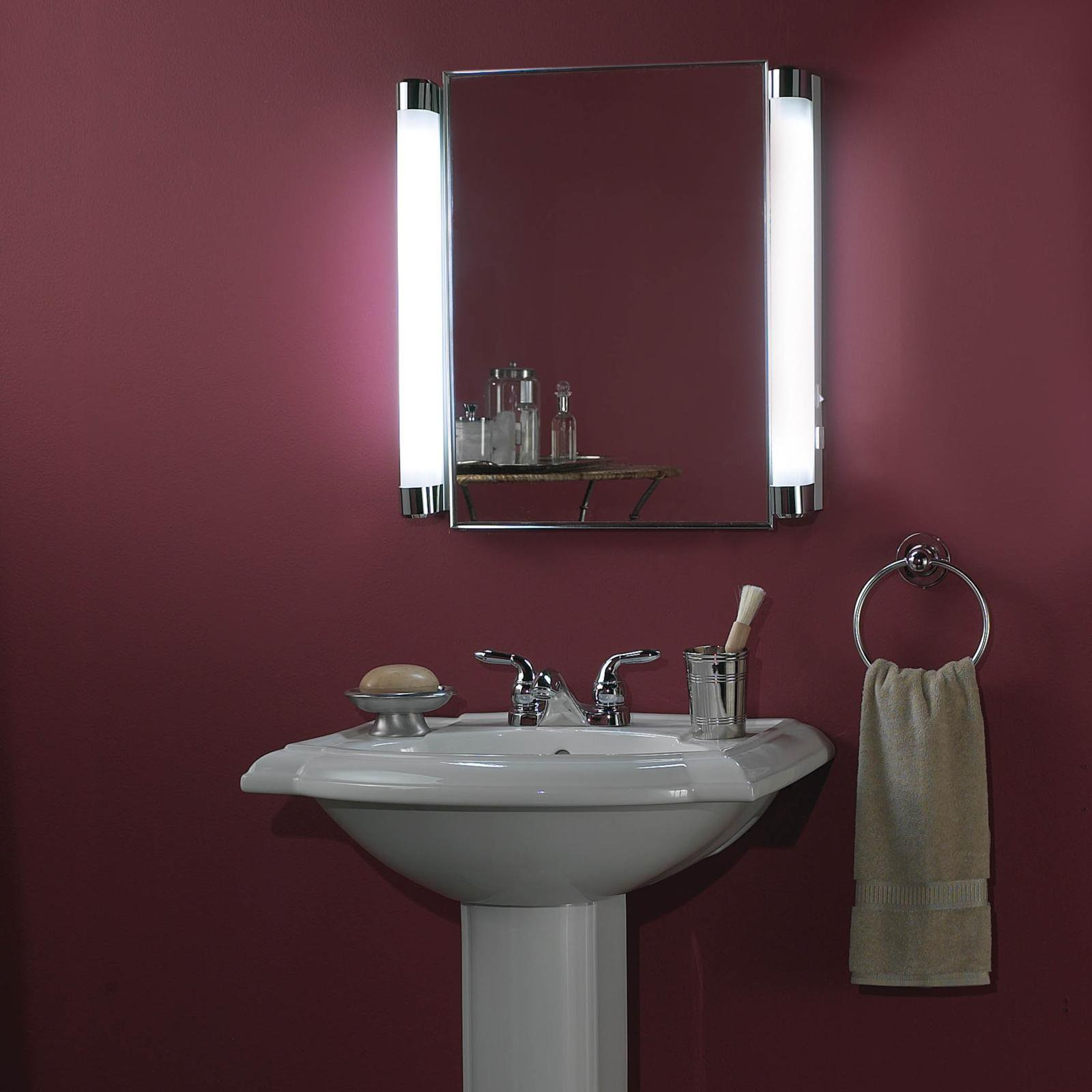 bathroom mirrors with in cabinet built depot home medicine and lights electrical cabinets outlet