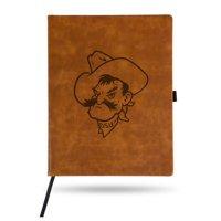 Oklahoma State Cowboys Sparo Laser Engraved Large Notepad - Brown