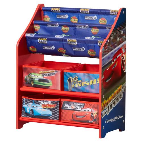 Delta Children Disney Pixar Cars Book & Toy Organizer