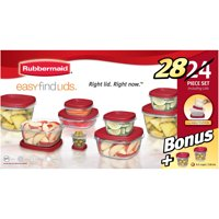 Deals on Rubbermaid Food Storage Containers 24-Piece Bonus Set