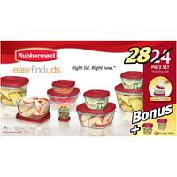 Rubbermaid Food Storage Containers 24-Piece Bonus Set Deals