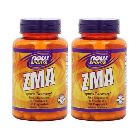 Now Foods - ZMA 90 Capsules (Pack of 2)
