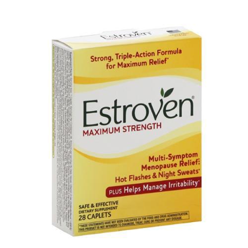 Estroven Maximum Strength Caplets 28 ea (Pack of 2)