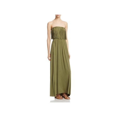 POL Womens Strapless Pullover Maxi Dress