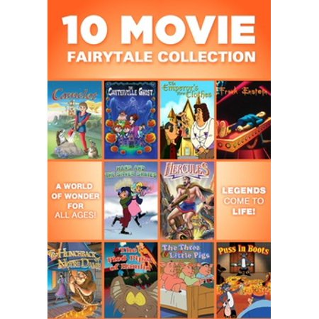 10 MOVIE FAIRYTALE COLLECTION (DVD/3 DISC/FF) (DVD)](Top 10 Halloween Movies For Tweens)