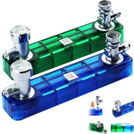 DIY CO2 Generator D501 Kit Aquarium Plant System Valve Pressure Gauge  Diffuser
