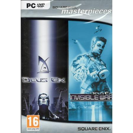 Deus Ex & Deus Ex: Invisible War ~ 2 PC DVD Game Pack ~ From Square