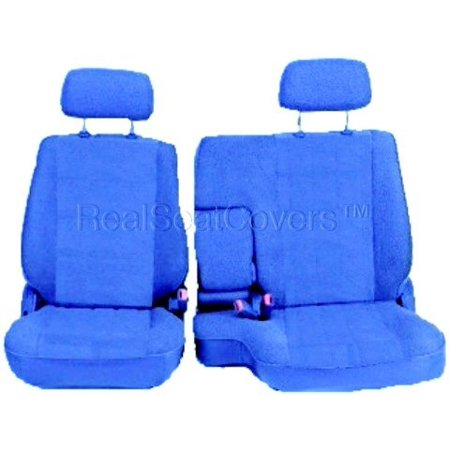 Amazing Seat Cover For Toyota Tacoma Front 60 40 Split Bench Adjustable Headrest Armrest Blue Inzonedesignstudio Interior Chair Design Inzonedesignstudiocom