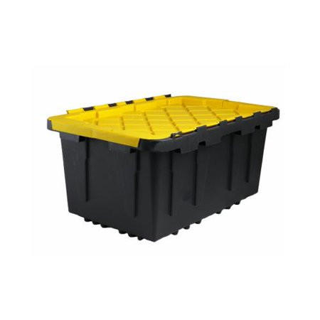 creative plastic concepts 206101 tough storage box 17 gal