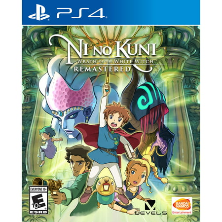 Ni No Kuni: Wrath of the White Witch Remastered, Bandai Namco, PlayStation 4, 722674122238