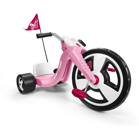 "Radio Flyer, Big Flyer Sport, Chopper Tricycle, 16"" Front Wheel, Pink"