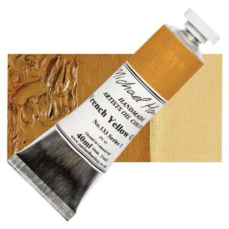 Michael Art Supply (Michael Harding Artists Oil Color - French Yellow Ochre, 40 ml)