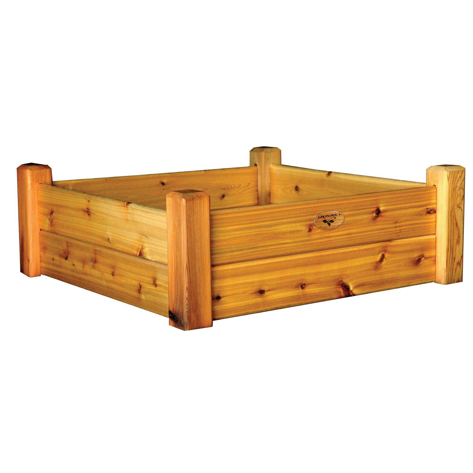 kit amazon garden inch of plastic greenland kits elegant designs cedar bed gardener raised