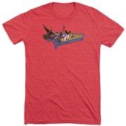Dark Knight Patch Mens Tri-Blend Short Sleeve Shirt