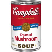 Campbell's Condensed Cream of Mushroom Soup, 10.5 oz.