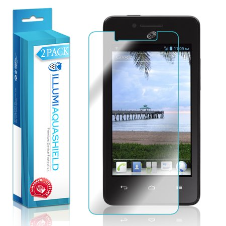 2x iLLumi AquaShield Crystal HD Clear Screen Protector for Huawei Ascend