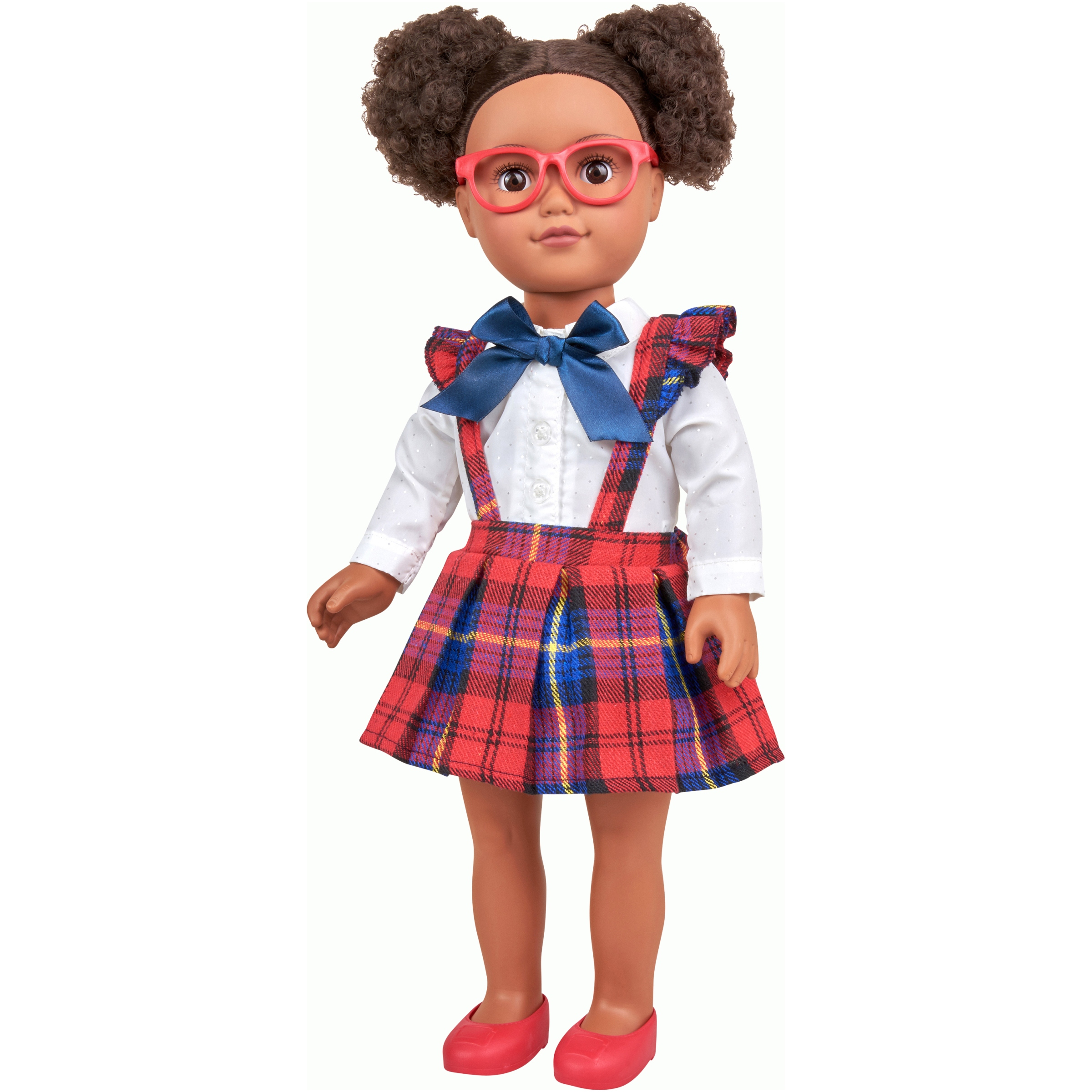 "My Life As 18"" Poseable African American School Girl Doll"